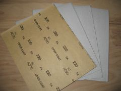 """9 x 11"""" Sanding Sheets          (add to cart to choose grit size)"""