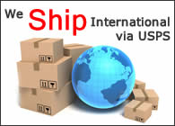 International Shipping Available.